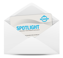 spinner spotlight newsletter
