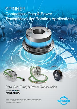 SPINNER Contactless Data and Power Transmission