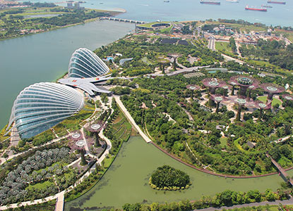 SPINNER In Building DAS Gardens by the Bay s